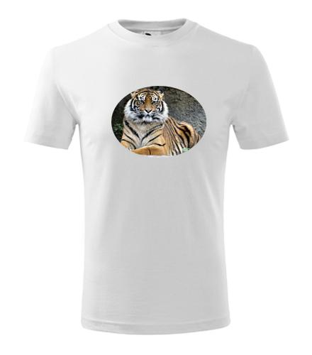 Dětské tričko s tygrem - Trička se zvířaty dětská