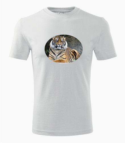 Tričko s tygrem - Trička se zvířaty pánská