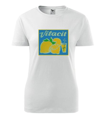 Dámské retro tričko Vitacit - Retro trička dámská
