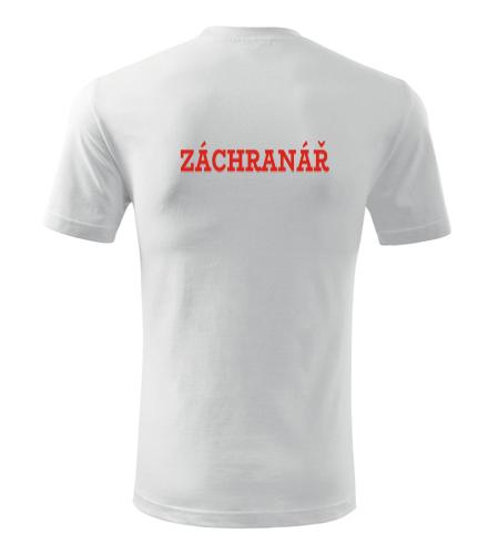 Tričko Záchranář pánské - Dárek pro záchranáře
