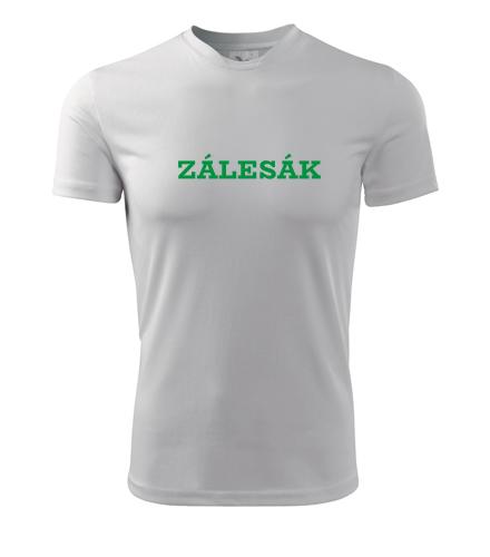 Tričko Zálesák - Dárek pro trampa