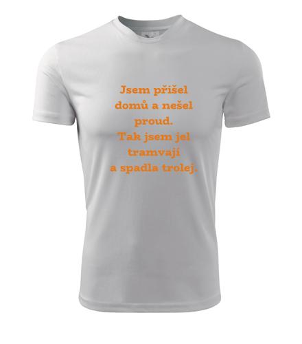 Pánské tričko Zítra to roztočíme výmluva - Trička s hláškou pánská