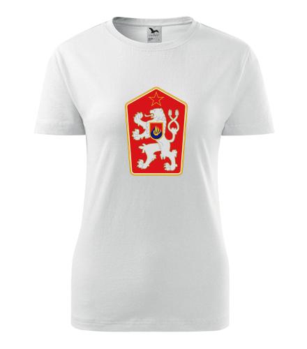 Dámské retro tričko znak ČSSR - Retro trička dámská