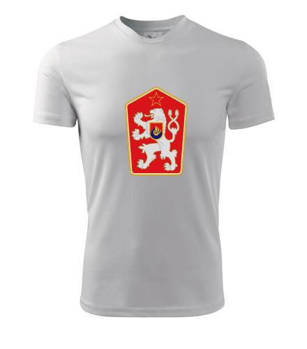 Retro tričko znak ČSSR - Retro trička pánská