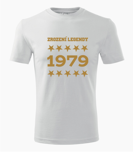 Tričko Zrození legendy - Dárek pro muže k 74