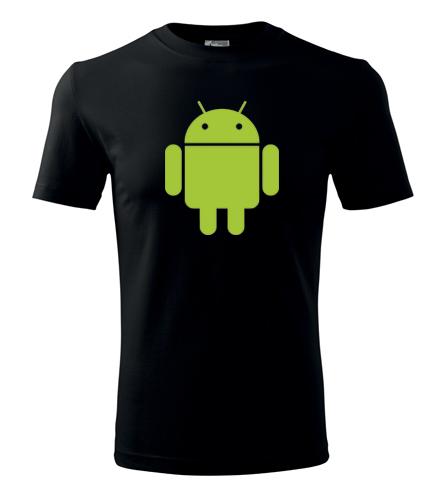 Tričko s Androidem - Dárek pro ajťáka