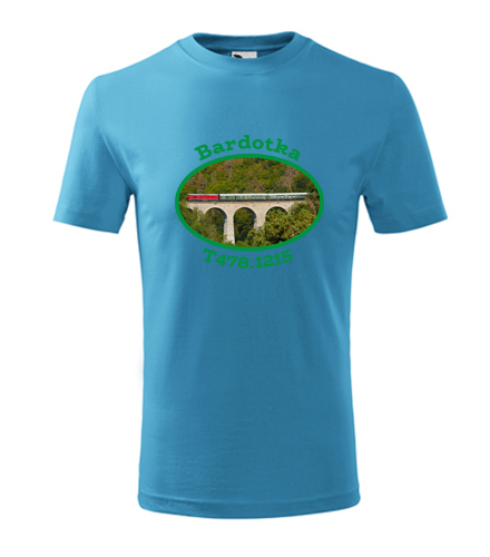 Dětské tričko s mašinkou Bardotka T478.1215 - Dětská trička s mašinkou