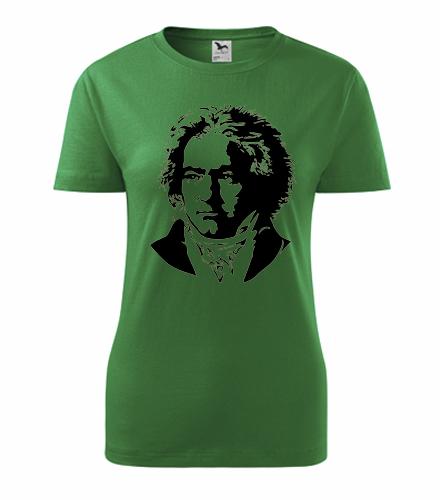 Dámské tričko Beethoven