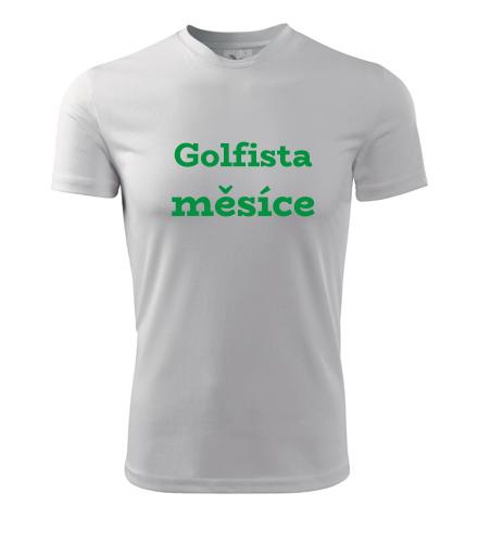Tričko Golfista měsíce - Dárek pro golfistu