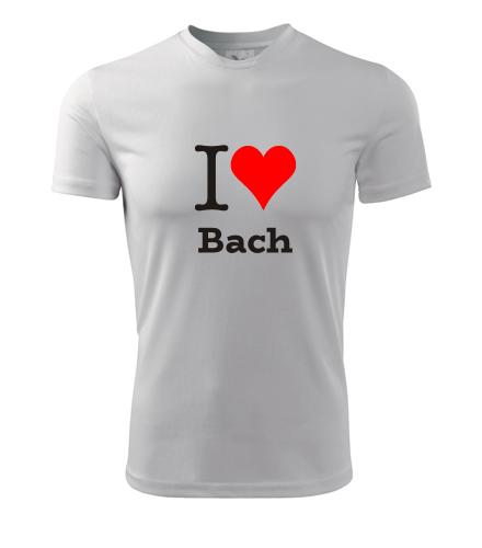 Tričko I love Bach