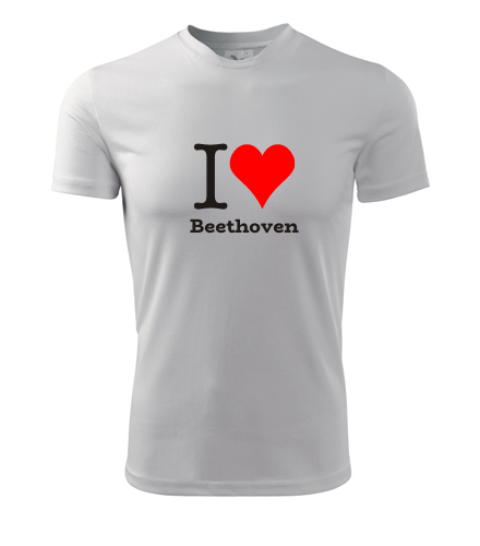 Tričko I love Beethoven