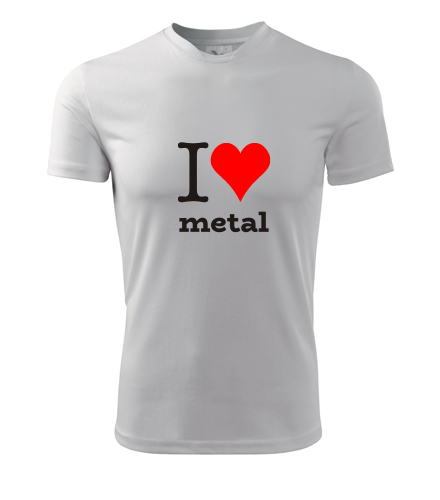 Tričko I love metal