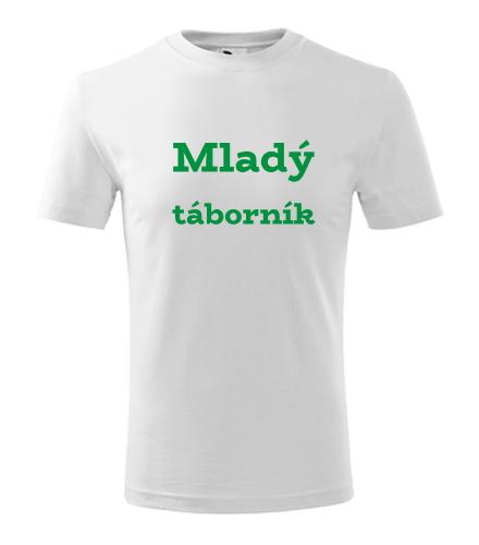 Dětské tričko Mladý táborník - Dárek pro trampa