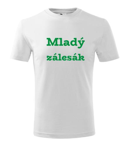Dětské tričko Mladý zálesák - Dárek pro trampa