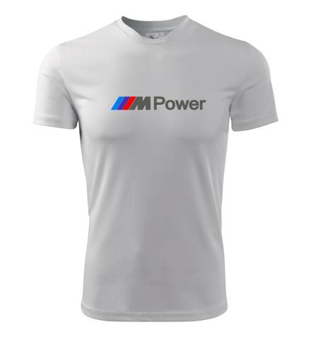 Tričko M Power - BMW trička pánská